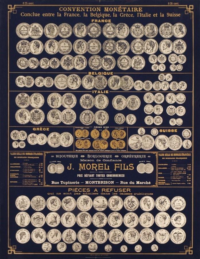 видове златни монети