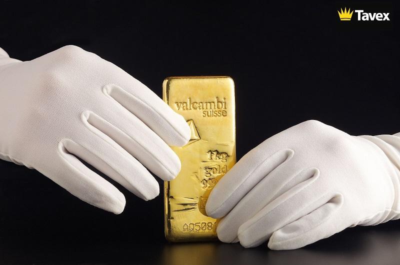 златно кюлче от един килограм tavex